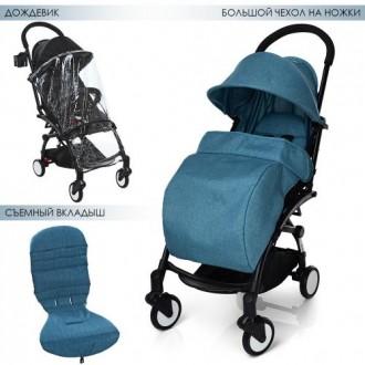 функциональная прогулочная коляска выполнена из экологически чистых и гипоаллерг. Одесса, Одесская область. фото 13