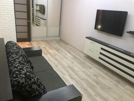 Сдам красивую 1-комнатную квартиру в жк 5-Жемчужина на Таирова, ул.Архитекторска. Таирова, Одесса, Одесская область. фото 2