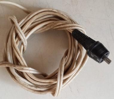 Продам шнур длиной 2,9м. Б/У. Состояние на фото. Продаю за ненадобностью, без не. Чернигов, Черниговская область. фото 2