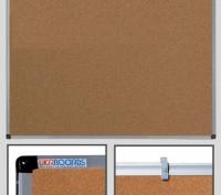 Доска пробковая офисная информационная, доска для объявлений 60x90 см. Львов. фото 1