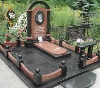 Памятники из гранита по самым низким ценам в городе. Днепр. фото 1