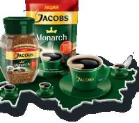Кава Якобс Монарх 400г. Кофе Jacobs Monarch 400г. 300+100 г.. Луцк. фото 1