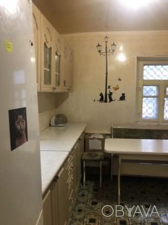 Сдам дом на ХБК 2- ком. Есть место под авто,с мебелью и техникой. Таврический, Херсон, Херсонская область. фото 1