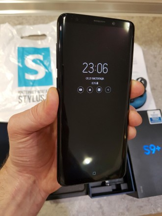 Продаю свій Samsung Galaxy S9+ Duos 128 Gb, офіційний, ще на гарантії. Колір Mid. Киев, Киевская область. фото 2
