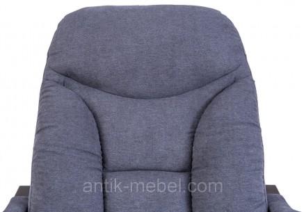 Глубина кресла-80 см. Ширина (с подлокотниками) кресла- 69 см. Высота в нижнем п. Харьков, Харьковская область. фото 6