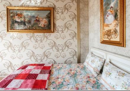 Трехкомнатная квартира в стиле Прованс. Квартира находиться в элитном доме в сам. Приморский, Одесса, Одесская область. фото 3