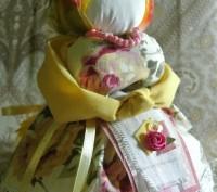 «Благополучница» или «Хозяюшка» — кукла-мотанка, оберегающая семью, способствующ. Запоріжжя, Запорізька область. фото 2