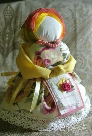 «Благополучница» или «Хозяюшка» — кукла-мотанка, оберегающая семью, способствующ. Запоріжжя, Запорізька область. фото 1