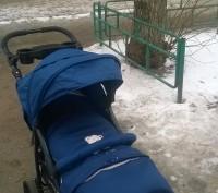 Отличная прогулочная коляска. Практически новая, покупали в сентябре 2016 года, . Коростень, Житомирская область. фото 3
