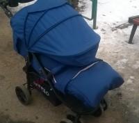 Отличная прогулочная коляска. Практически новая, покупали в сентябре 2016 года, . Коростень, Житомирская область. фото 6