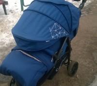 Отличная прогулочная коляска. Практически новая, покупали в сентябре 2016 года, . Коростень, Житомирская область. фото 5