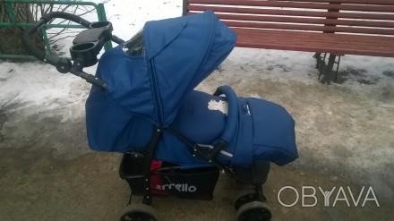 Отличная прогулочная коляска. Практически новая, покупали в сентябре 2016 года, . Коростень, Житомирская область. фото 1