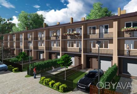 Продам зблокований будинок з гаражем в котеджному містечку Ременів 18bf1e0ed1c06