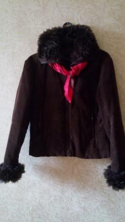 Куртка весняна вельветова. Львов. фото 1