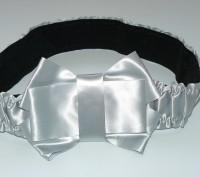 Продам красивый женский пояс с бантиком серого цвета. Харьков. фото 1