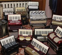 Продам баяни, акордеони, гармонь (ремонт інструмента).. Винница. фото 1