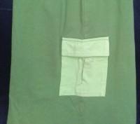 Юбка  удлиненная хлопок-трикотаж травяного цвета для девочки 7-8 лет.. Київ. фото 1