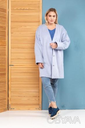 Пальто кашемировое Massimo Dutti ( Пальто оверсайз)
