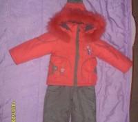 Зимовий костюм для дівчинки. Львов. фото 1