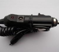 Aвтомобильное зарядное устройство от прикуривателя (толстый штекер).. Северодонецк. фото 1