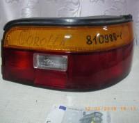 Фонарь задний правый Toyota-Corolla E9 1988-1992. Львов. фото 1