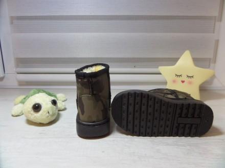 Детские угги цвета хаки Смотрятся очень классно и стильно на ножке вашего малыш. Київ, Киевская область. фото 4