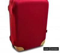 чехол для чемодана красный Coverbag. Одесса. фото 1