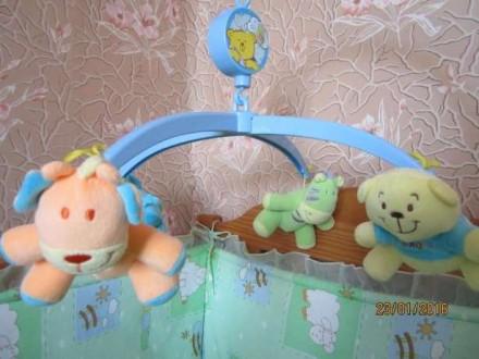 Карусель музична(карусель для детской кроватки). Львов. фото 1
