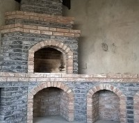 Строительство, профессионально, каминов, печей, барбекю любой сложности. Київ. фото 1
