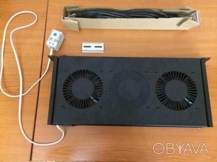 Кількість вентиляторів: 2 Колір: чорний Тип обладнання: блок вентиляторів Тер. Львов, Львовская область. фото 1