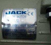 Электромотор фрикционный для промышленной швейной машины JACK Clutch Motor AOL 1. Киев, Киевская область. фото 4