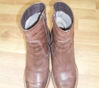 Фирменные ботинки Wrangler 100 % кожаные .. Трускавец. фото 1