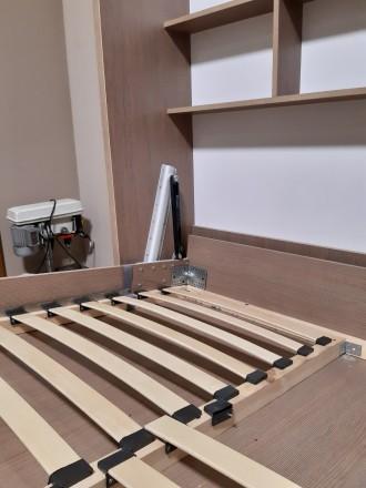 Механизм трансформации шкаф кровати предназначен для легкого подъема кровати в в. Запорожье, Запорожская область. фото 6