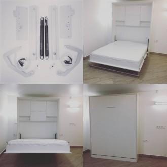 Механизм трансформации шкаф кровати предназначен для легкого подъема кровати в в. Запорожье, Запорожская область. фото 3