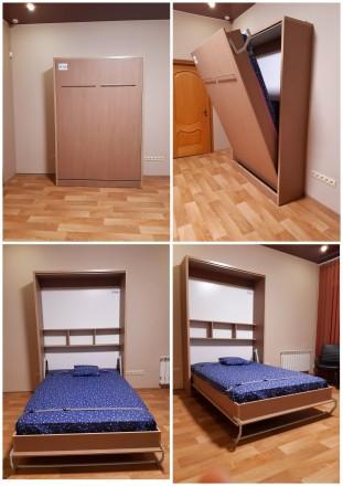 Механизм трансформации шкаф кровати предназначен для легкого подъема кровати в в. Запорожье, Запорожская область. фото 5