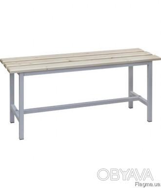 Приставная скамейка широко используется для комплексного оборудования раздевалок. Днепр, Днепропетровская область. фото 1