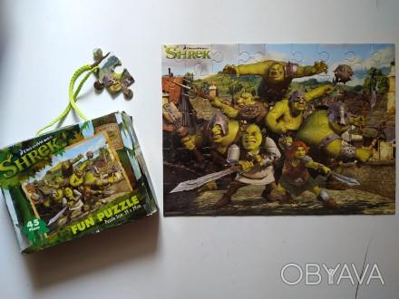 Пазлы Шрек Shrek в коробке
