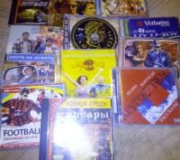 Компакт диски фільми, ігри, музичні, аудіо книги.. Львов. фото 1
