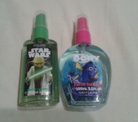 Дитяча туалетна вода Finding Dory (дівчинка), Star Wars(хлопчик). Стрий. фото 1