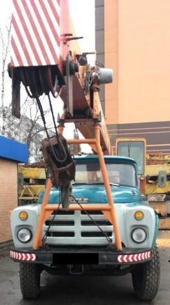 Продаем автомобильный кран ДАК КС-3575А, 10 тонн, ЗИЛ 133ГЯ, 1989 г.в.. Киев. фото 1