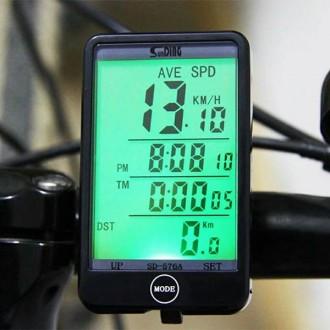 Провідний вело комп'ютер SunDing SD-576A c підсвічуванням.  Особливості: Вели. Львов, Львовская область. фото 2