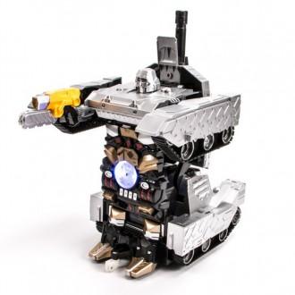 Радиоуправляемый трансформер танк, стреляющий присосками MZ 1:10. Запорожье. фото 1