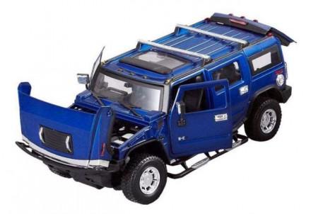Радиоуправляемая машина MZ Hummer H2 1:24. Запорожье. фото 1