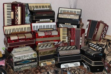 Продам баяни, акордеони, гармонь (ремонт інструмента). Винница. фото 1