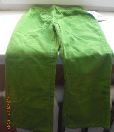 Штани зелені світлі  Blunderblue 5 років. Новый Роздол. фото 1