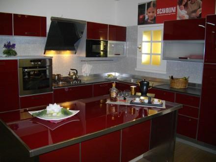 Кухня італійської фабрики SCAVOLINI, модель