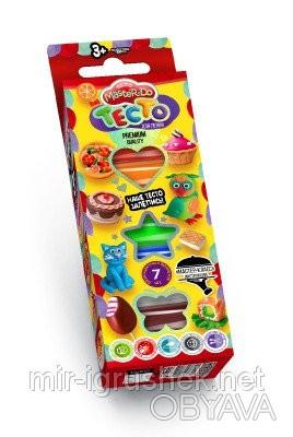 Тесто для лепки Master Do коробка 7 цветов рус 30 штук в упаковке. «MASTER DO» э. Одесса, Одесская область. фото 1