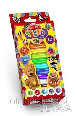 Тесто для лепки Master Do коробка 10 цветов рус. 20 штук в упаковке.       . Одесса, Одесская область. фото 1