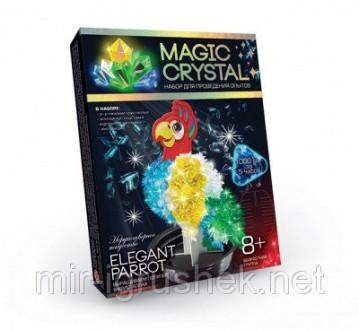 Набор для опытов с кристаллами magic crystal. 16 штук в упаковке. 3 вида. Мы хот. Одесса, Одесская область. фото 3