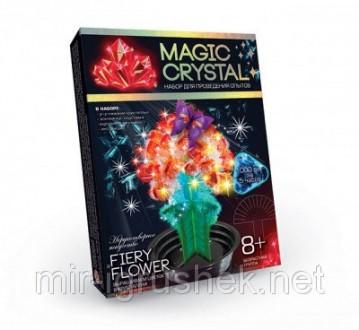 Набор для опытов с кристаллами magic crystal. 16 штук в упаковке. 3 вида. Мы хот. Одесса, Одесская область. фото 4
